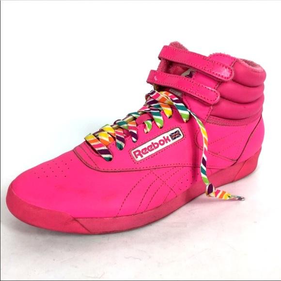 264bd5de1e4 Reebok Hot Pink Freestyle Classic 30 Reign Bow. M 5b167ffd035cf11d8f4e5d2d
